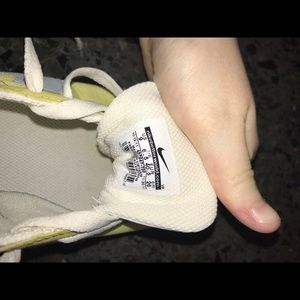 Nike Shoes - Nike Cortez, green & periwinkle